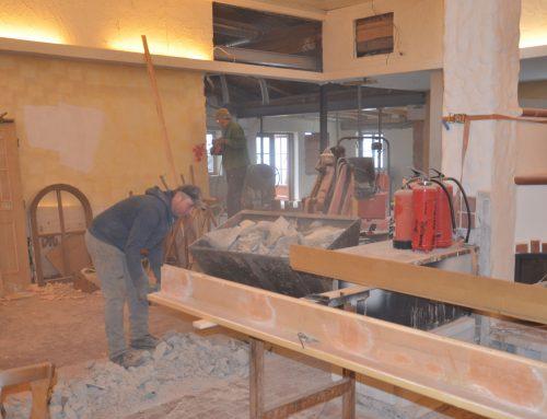 Baufortschritt Kalenderwoche 5/2020
